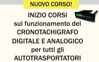 Corsi di Formazione sul corretto funzionamento del CRONOTACHIGRAFO
